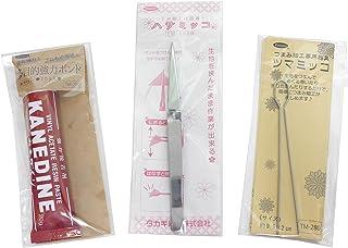タカギ繊維 Panami 京ちりめんつまみ細工シリーズ つまみ細工スターターセット SO-4