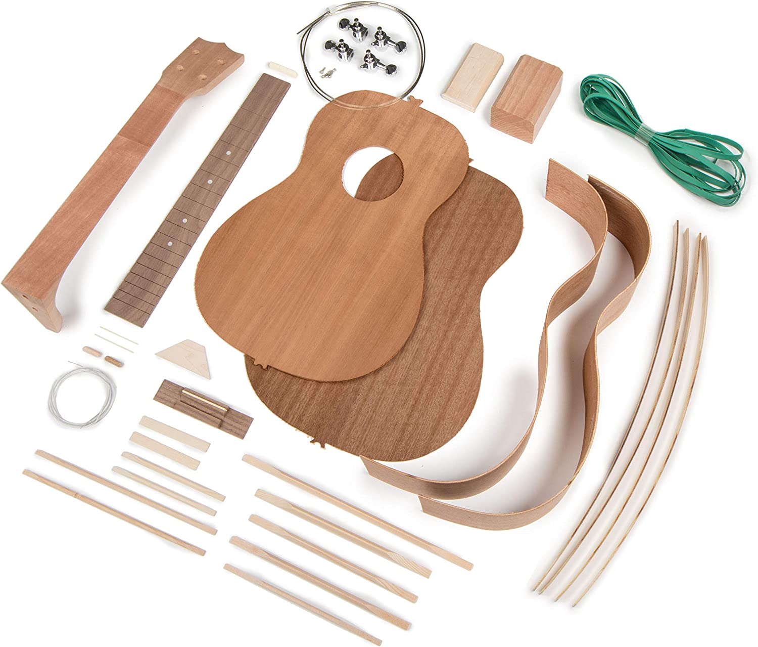 StewMac Build Your latest Own Kit Baritone Ukulele Financial sales sale
