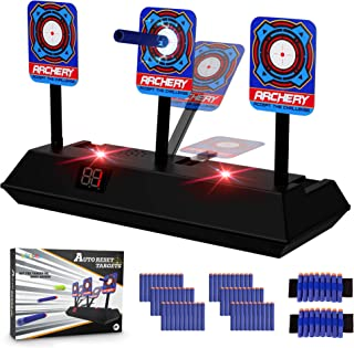 KKONES Electric Scoring Auto Reset Shooting Digital Target for Nerf Guns Shooting Target