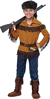 California Costumes Frontier Boy/Davy Crockett Boy Costume, One Color, Large
