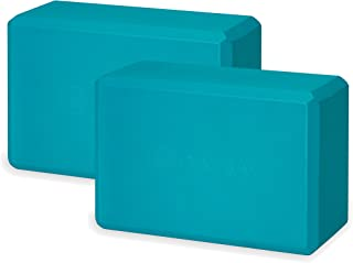 Gaiam Essentials Yoga Block (Set Of 2) – Supportive, Soft Non-Slip Foam Surface For Yoga, Pilates, Meditation