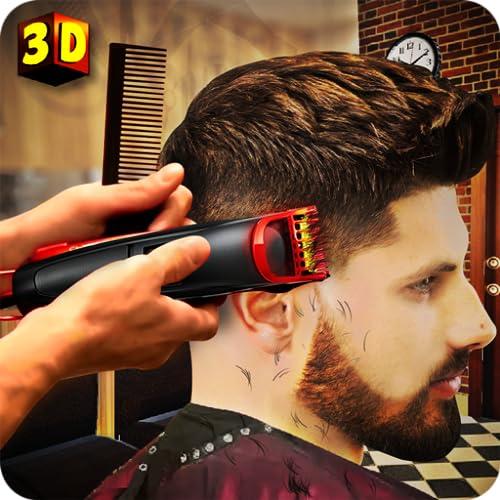 Hair Salon Fun Game: Barber Shop Hair Cutting Games