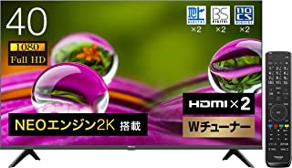 ハイセンス 40V型 フルハイビジョン 液晶テレビ 40A30G ダブルチューナー 外付けHDD裏番組録画対応 2021年モデル 3年保証G