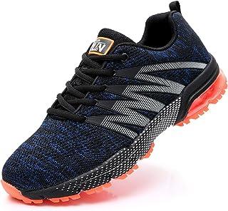 Azooken Herren Damen Sportschuhe Laufschuhe Turnschuhe Sneakers Leichte Fitness Mesh Air Sneaker Straßenlaufschuhe Outdoor...