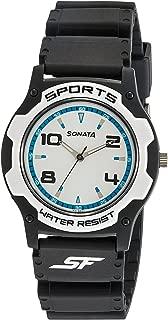 Fibre (SF) Analog White Dial Men's Watch-NF7921PP11C