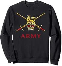 British Army Gift Proud UK Armed Forces Logo English Pride Sweatshirt