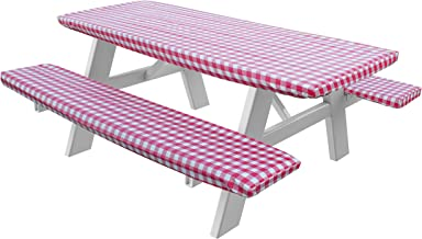 picnic tablecloth with elastic