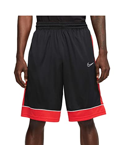 Nike Big Tall Shorts Fastbreak (Black/University Red/White) Men