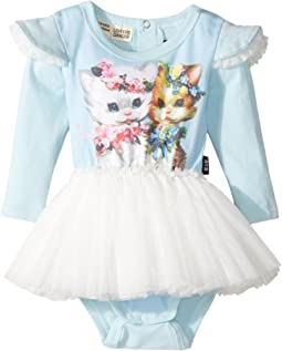Rock Your Baby - Lulu & Lola Long Sleeve Circus Dress (Infant)