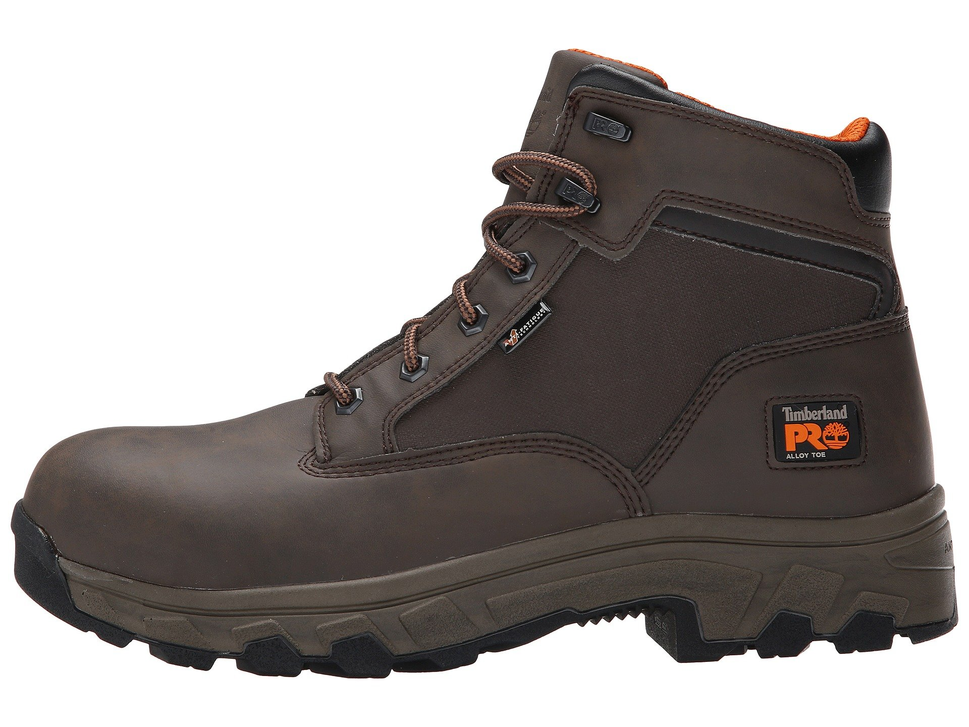 Brown Pro Toe Alloy 6