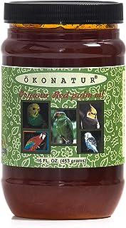 OKONATUR Red Palm Oil for Birds and Parrots - 16 fl oz