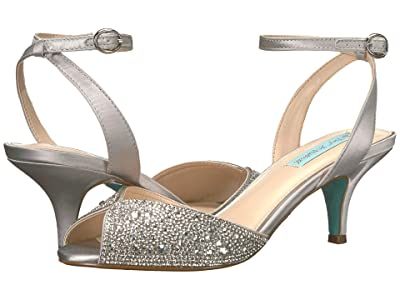 Blue by Betsey Johnson Royal (Silver) High Heels
