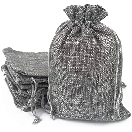 Dice pattern bag  pouch with grey cotton lining