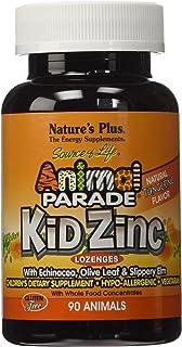 Nature's Plus - Animal パレード KidZinc トローチ タンジェリン - 90トローチ