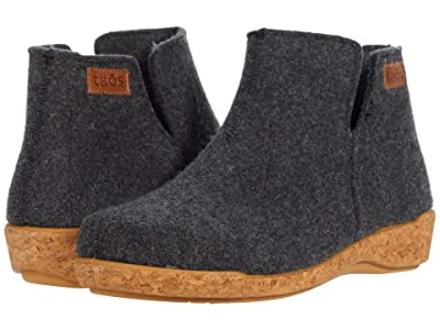 Taos Footwear Woolly Boolly (Charcoal) Women