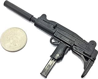 "4D 1/6 Scale Uzi Pistol Submachine Gun Israel Army Miniature Toy Guns Model Fit for 12"" Action Figure"