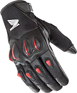 Joe Rocket Cyntek Honda Gloves (Large) (Black/RED)