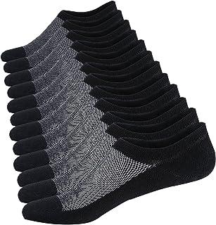 Calcetines Cortos Hombre Invisibles Respirable Calcetines tobilleros Algodón Antideslizantes