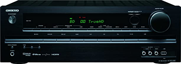 Onkyo HT-RC430 5.1-Channel Home Theater Receiver (Black) (Discontinued by Manufacturer)