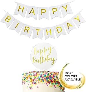 Best birthday cake banner Reviews