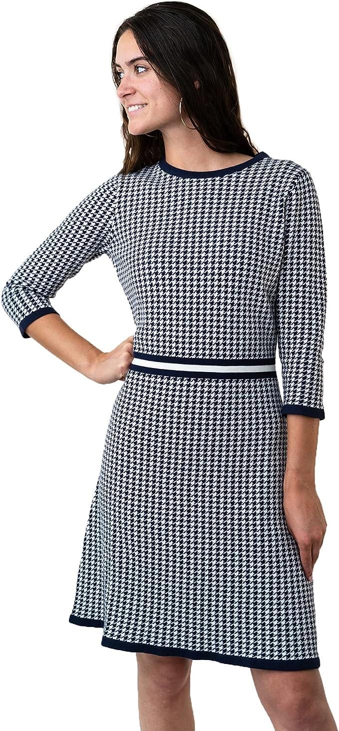 Vintage Style Dresses | Vintage Inspired Dresses Hope & Henry Womens Long Sleeve Sweater Dress  AT vintagedancer.com