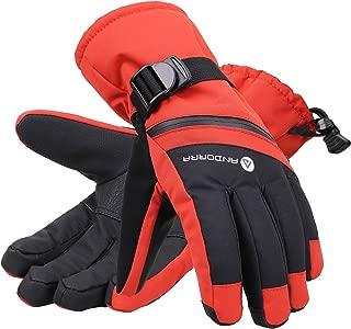 Andorra Men's C-100 Cross Country Textured Touchscreen 3M Thinsulate Insulation Glove w/Zippered Pocket