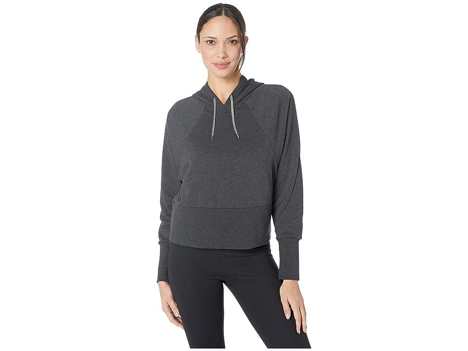 Nike Studio Pullover Versa Hoodie (Black Heather/Black) Women