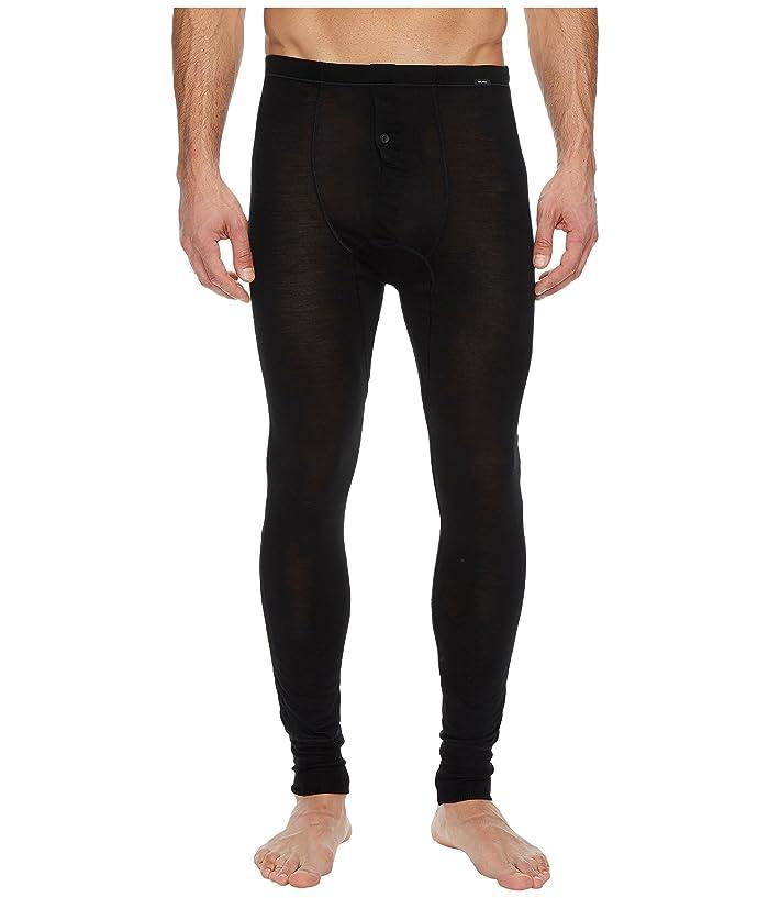 Hanro Light Merino Long Leg Pant (Black) Men