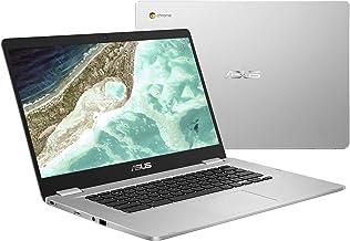 "ASUS Chromebook C523NA-DH02 15.6"" HD NanoEdge Display, 180 Degree, Intel Dual Core Celeron Processor, 4GB RAM, 32GB eMMC S..."