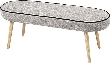 Amalfi Simi Bench Seat (KD) Amalfi Simi Modern Bench Chair Seat,Grey/Black/Natural