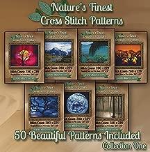 Nature's Finest Cross Stitch Patterns - Collection One - 50 Beautiful Landscape/Scenery Cross Stitch Designs on CD