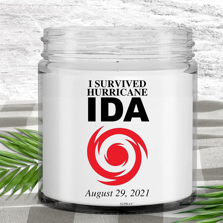 I overseas Survive Hurricane Ida Boston Mall Candle 2021 August
