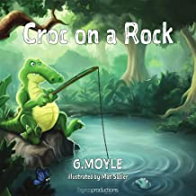 Croc on a Rock