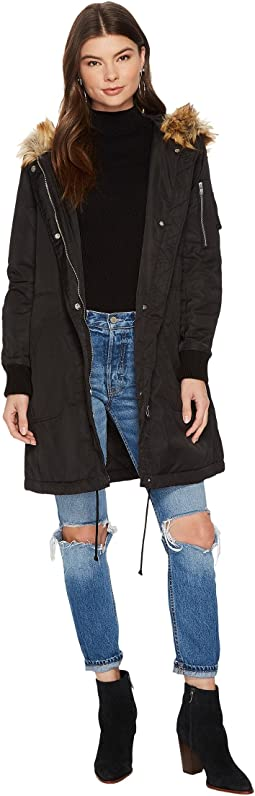 BB Dakota Emmers Hooded Anorak Coat