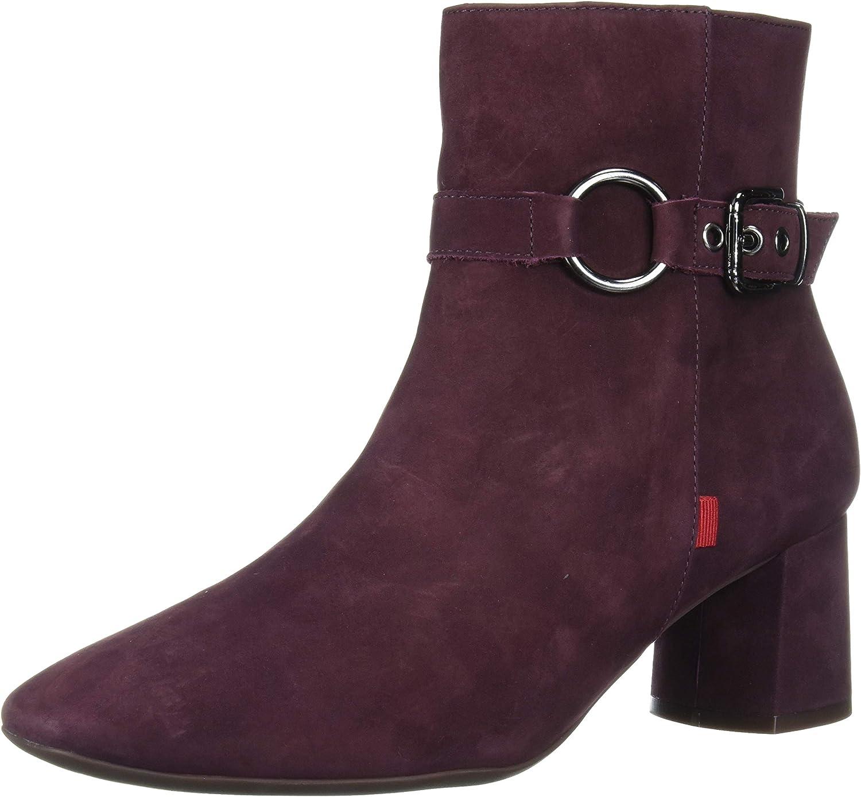 Marc Joseph Max 80% OFF New York Women's Leather Deta Block Brand new with Buckle Heel