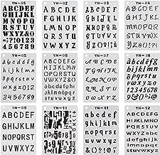 Best mini alphabet stencils Reviews