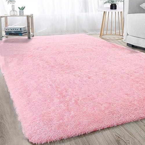 Alfombra grande moderna, suave y esponjosa para dormitorio, sala de estar, habitación de los niños, decoración interi...