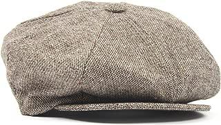 New York Hat co Wool Tweed Fleck Newsboy Hat