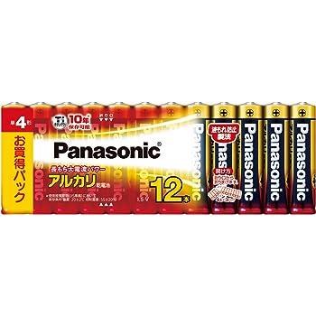 パナソニック アルカリ乾電池 単4形12本パック LR03XJ/12SW