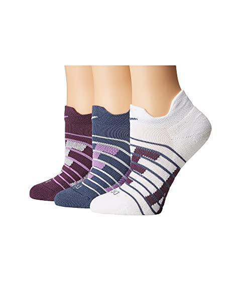 Dry Cushioned Low Training Socks 3-Pair Pack, Multicolor 4