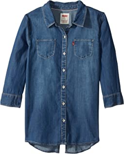 Western Denim Top (Big Kids)