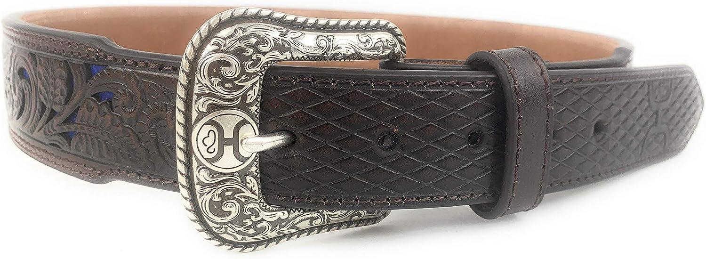 HOOey Mens Tooled Tapered Belt