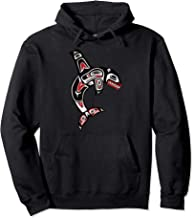 Pacific Northwest Canadian Native Orca Killer Whale Hoodie