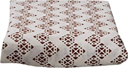 Stamped Zig Zag Fitted Sheet