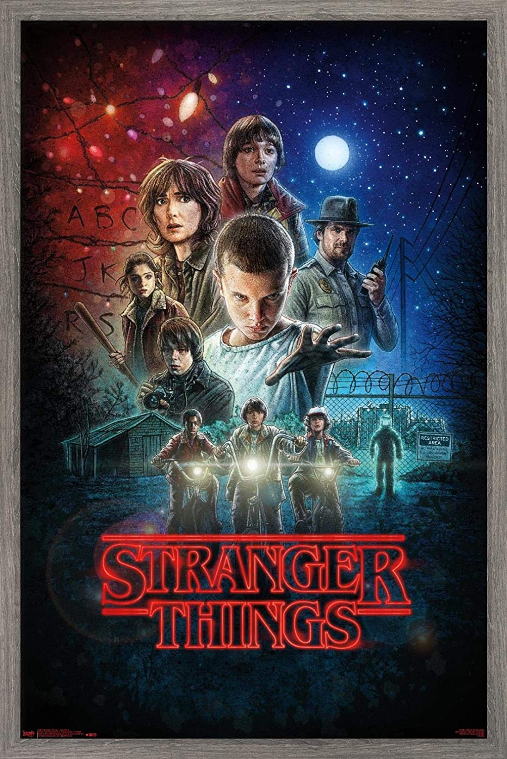 Trends International Netflix Stranger Things - One trend rank Year-end gift Wall Po Sheet
