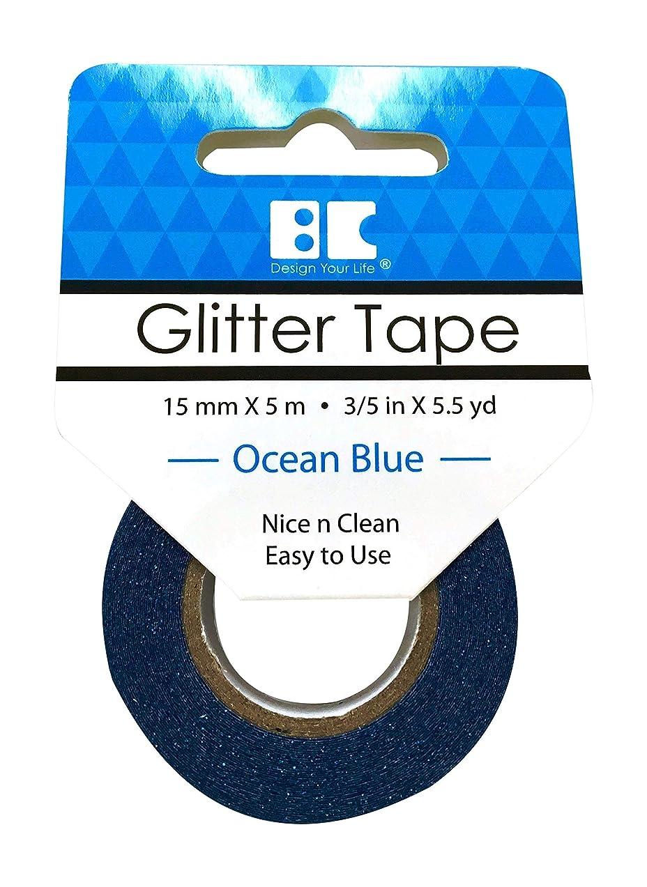 Best Creation Glitter Tape - Ocean Blue, 15Mm5M
