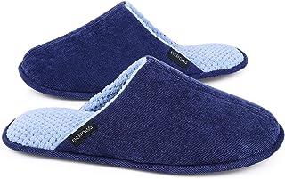 EverFoams Men's Ladies' Original Corduroy Memory Foam Slipper