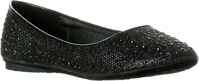 Fashion-shoes Girls Glitter Shiny Ballerina On Award Flats Ballet Slip Genuine