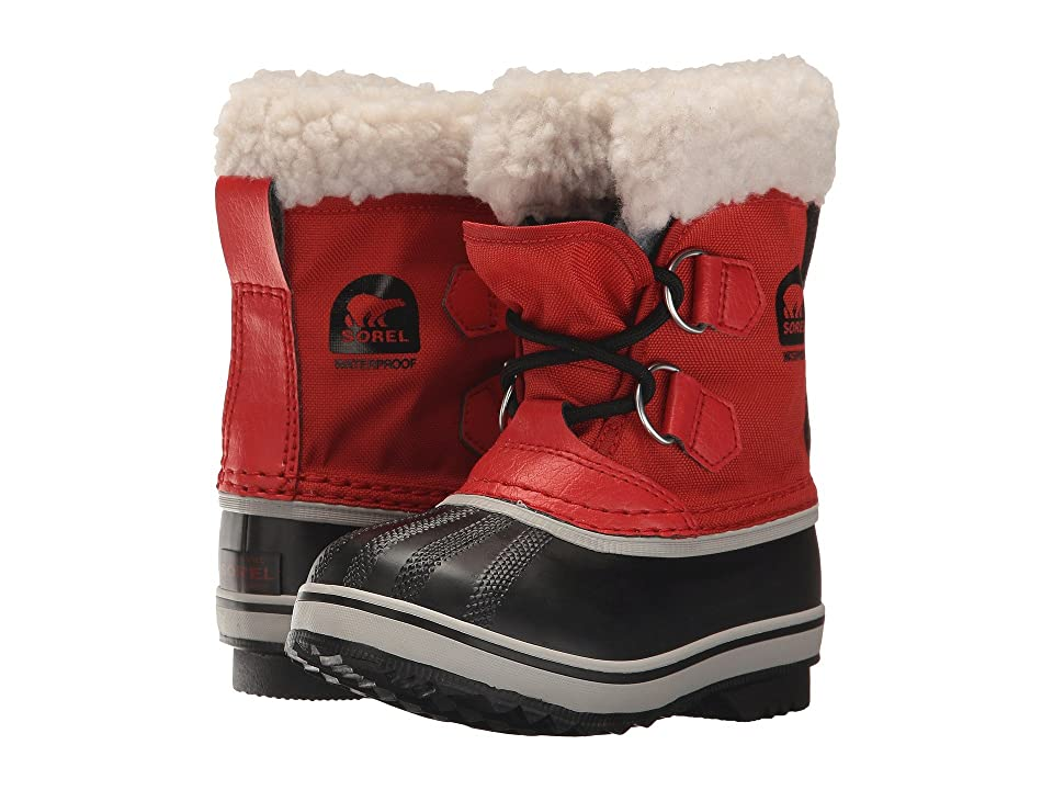 SOREL Kids Yoot Pac Nylon (Toddler/Little Kid) (Rocket) Kids Shoes