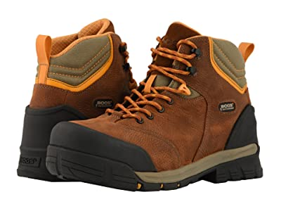 Bogs Bed Rock Mid Puncture Proof (Brown Multi) Men
